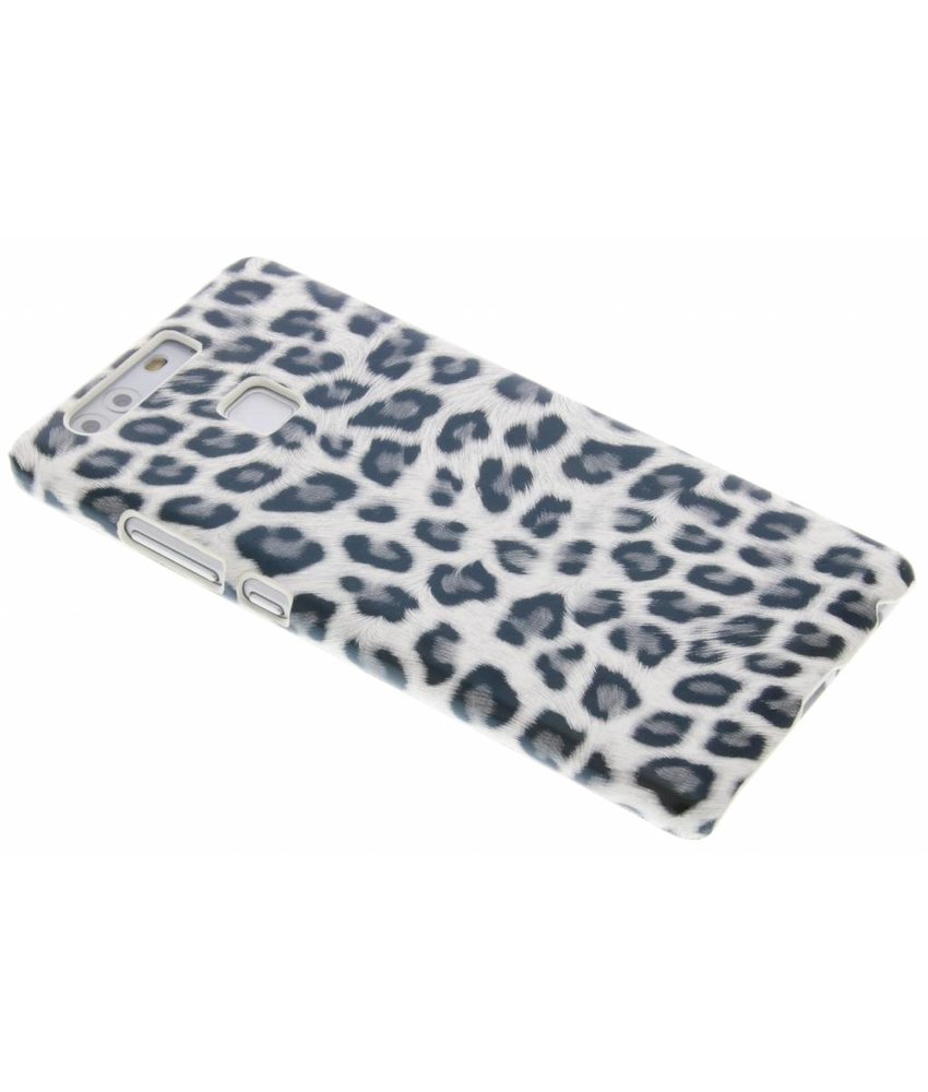 Grijs luipaard design hardcase hoesje Huawei P9
