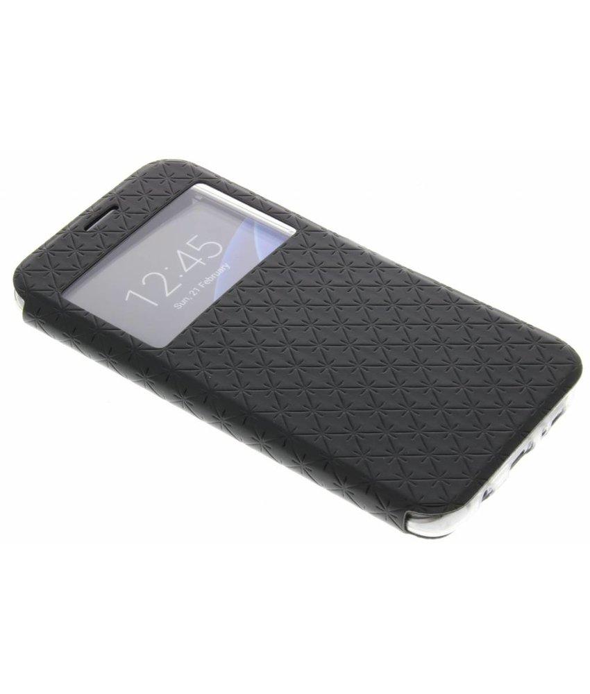 Zwart Rhombus hoesje Samsung Galaxy S7 Edge
