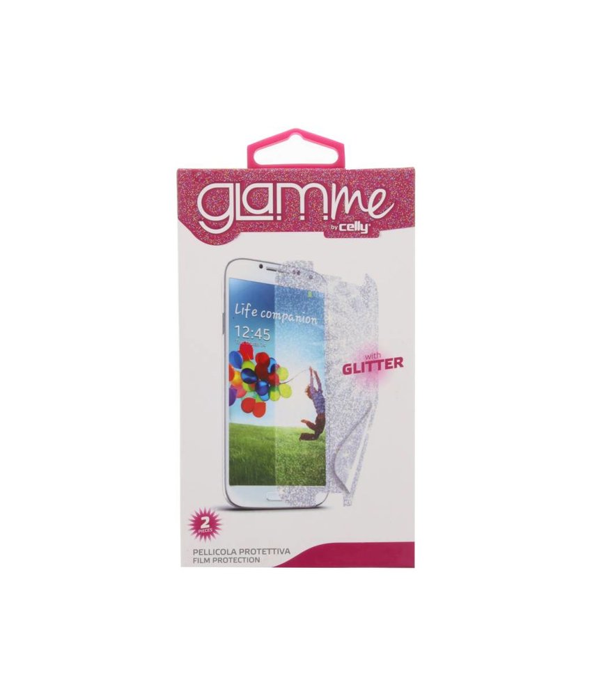 Celly GLAMme screenprotector duopack Samsung Galaxy S4