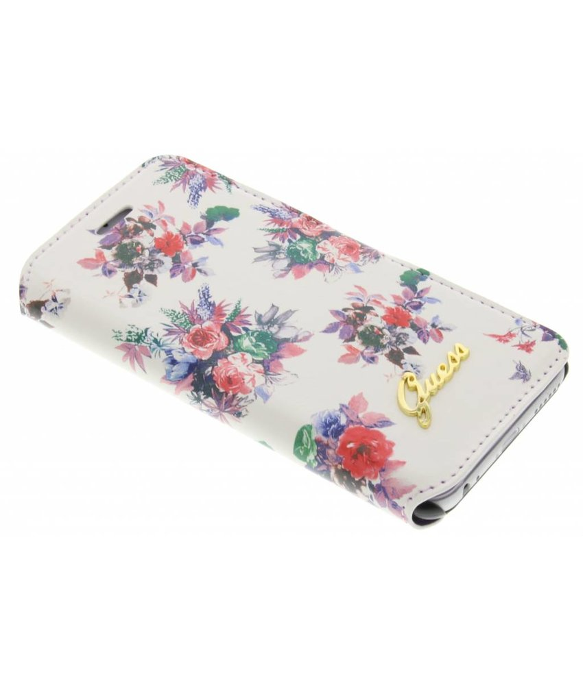 Guess Blossom Booktype iPhone 6 / 6s - Wit