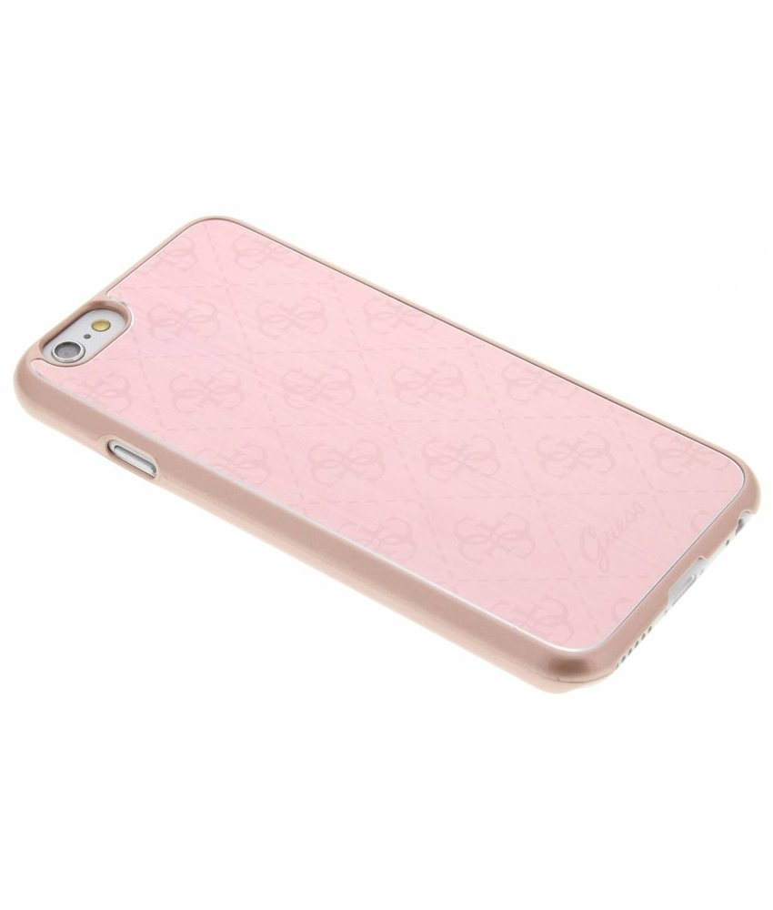 Guess Aluminium Plate Hard Case iPhone 6 / 6s - Rose Gold