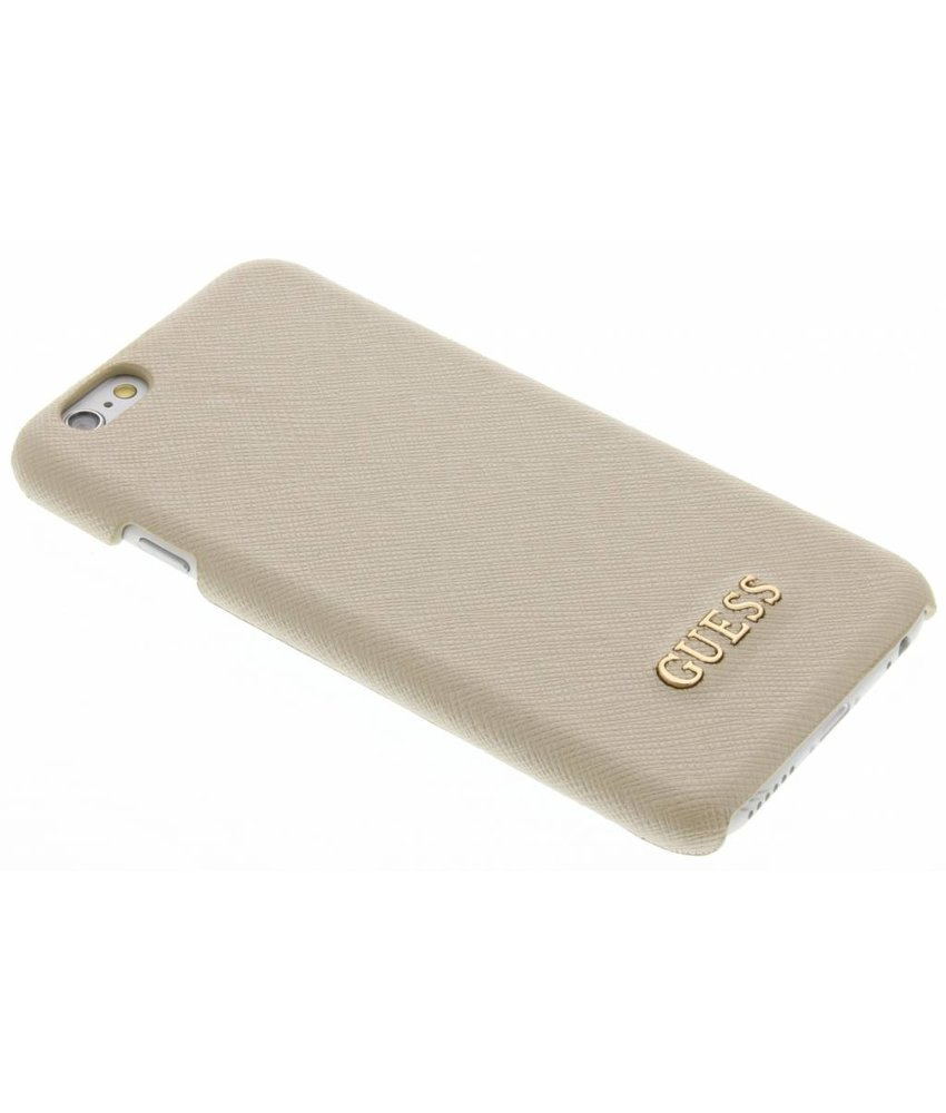 Guess Saffiano Collection Hard Case iPhone 6 / 6s - Beige