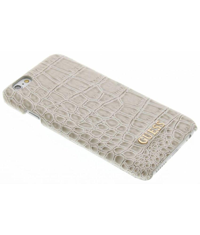 Guess Crocodile hardcase hoesje iPhone 6 / 6s - Beige