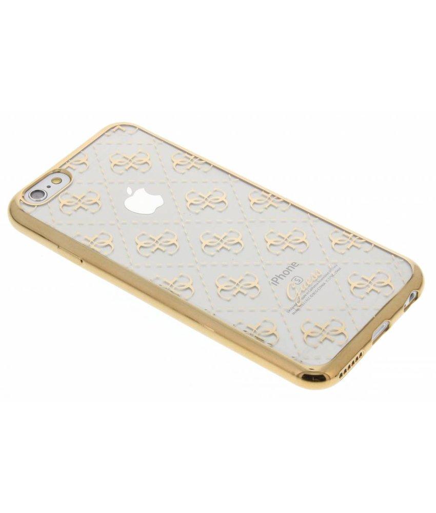 Guess Scarlett TPU Case iPhone 6 / 6s - Goud
