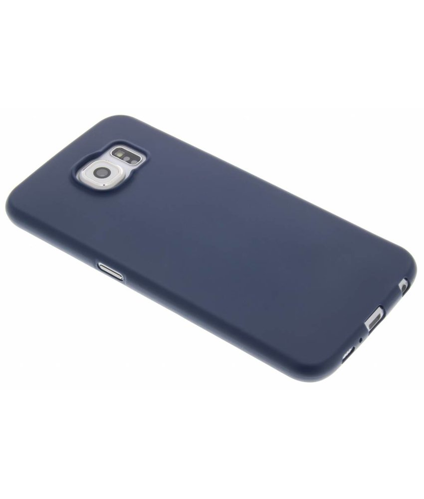 Donkerblauw Color TPU hoesje Samsung Galaxy S6