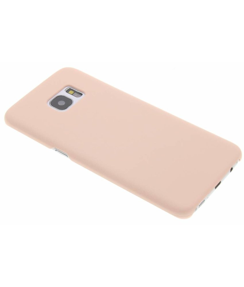 Poederroze pastel hardcase hoesje Samsung Galaxy S7 Edge