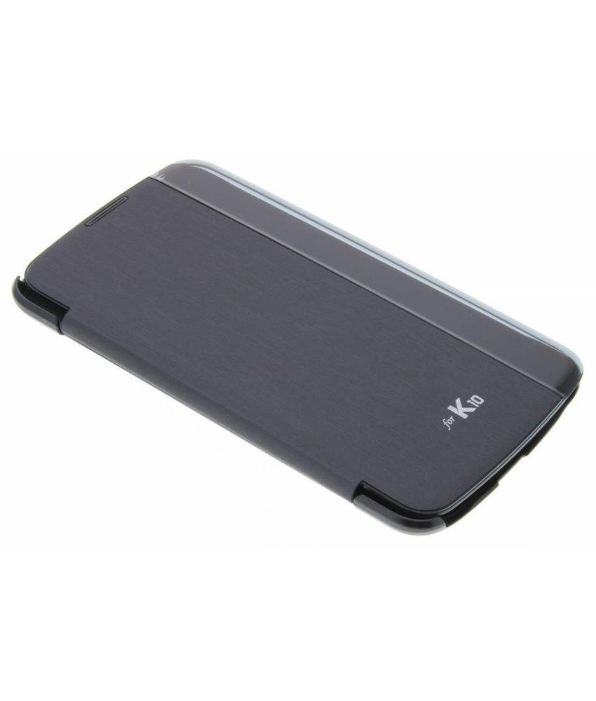 LG Quick Glance Case LG K10 - Zwart