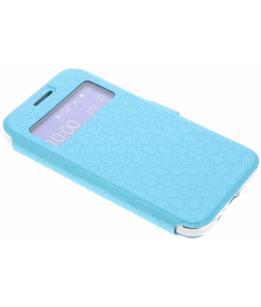 Blauw Rhombus hoesje Samsung Galaxy Core Prime