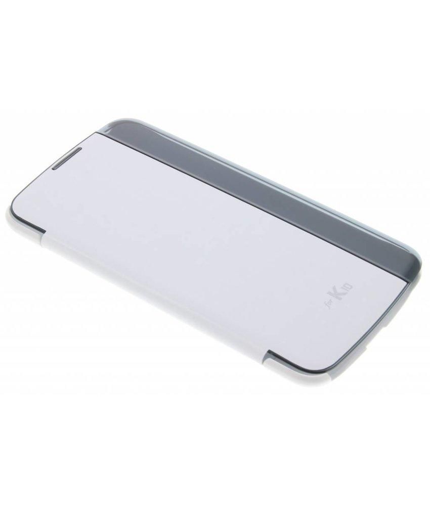 LG Quick Glance Case LG K10 - Wit