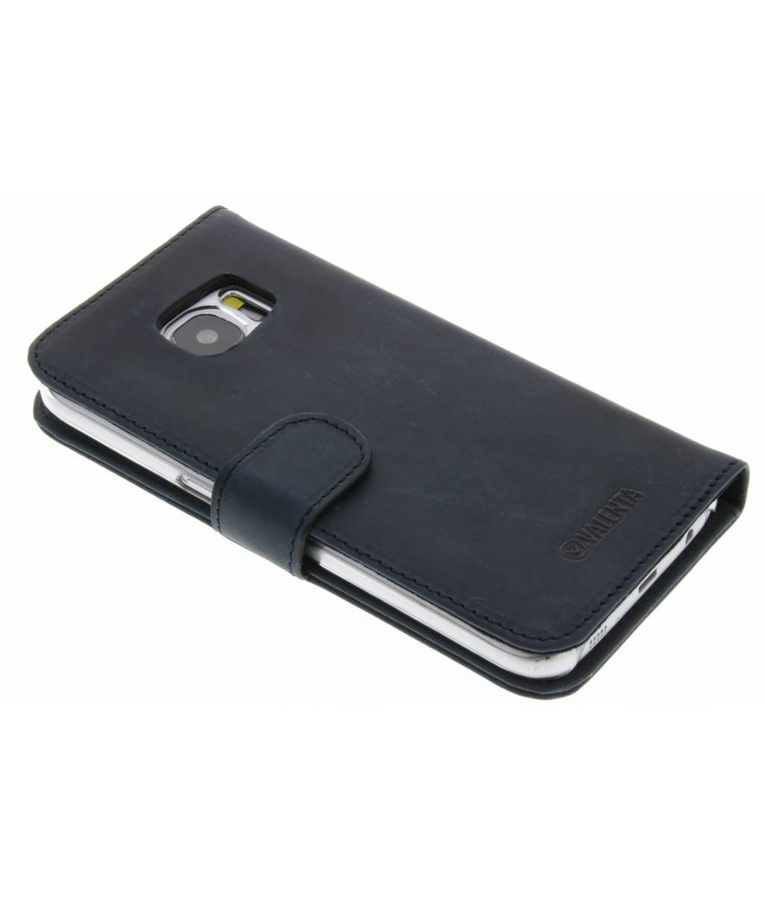 Valenta Booklet Classic Luxe Samsung Galaxy S7 - Vintage Blue