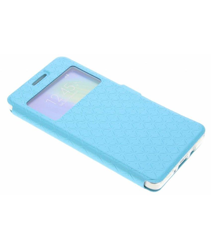 Blauw Rhombus hoesje Samsung Galaxy A5
