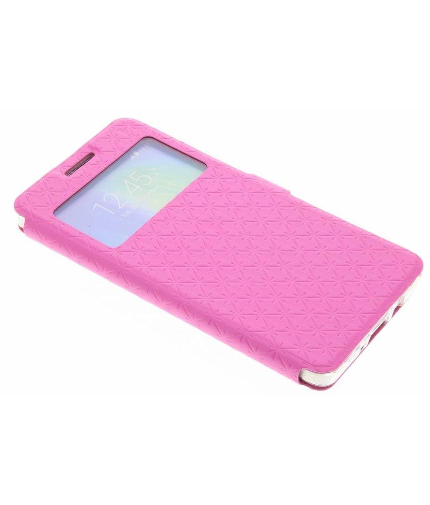 Roze Rhombus hoesje Samsung Galaxy A5