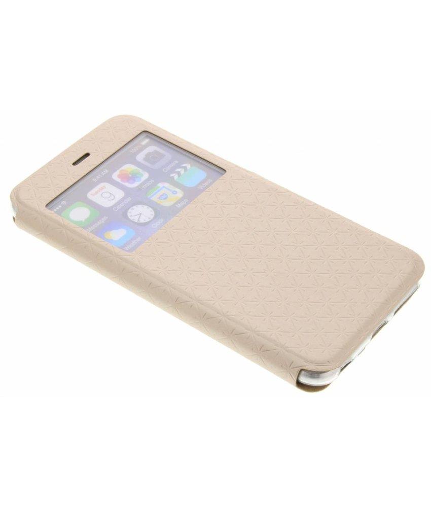 Goud Rhombus hoesje iPhone 6(s) Plus