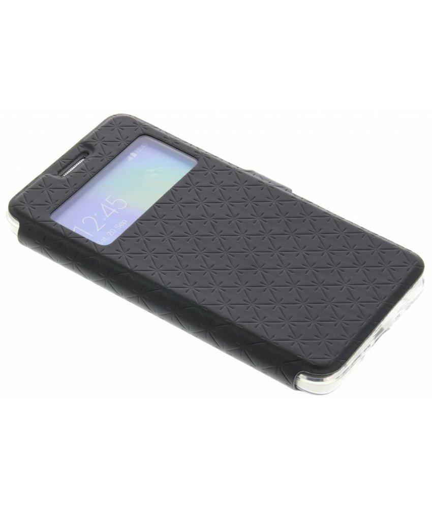 Zwart Rhombus hoesje Samsung Galaxy A3