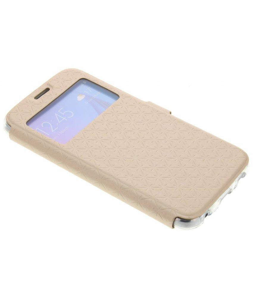 Goud Rhombus hoesje Samsung Galaxy S6