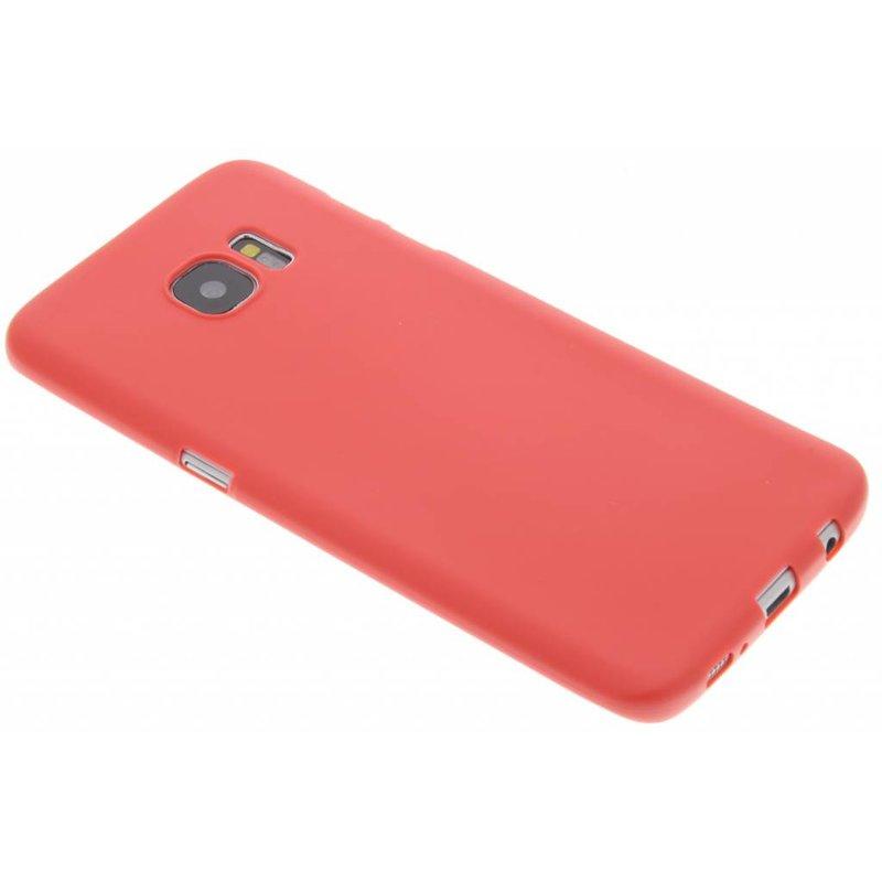 Rood Color TPU hoesje Samsung Galaxy S7 Edge