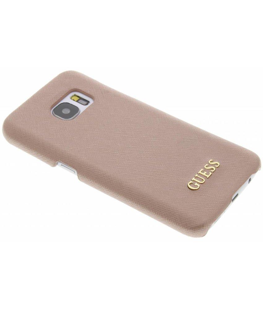 Guess Saffiano Collection Hard Case Samsung Galaxy S7 - Rosé