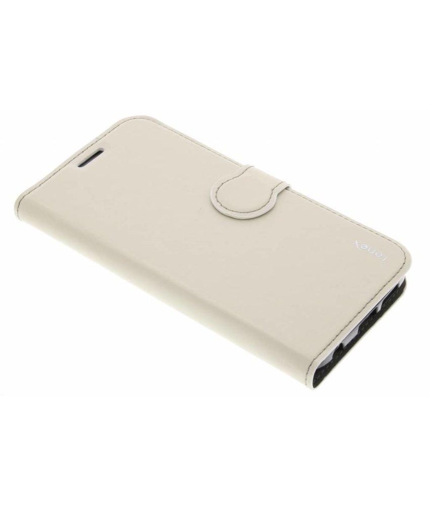 Fonex Identity Bookcase Samsung Galaxy S6 Edge - Wit