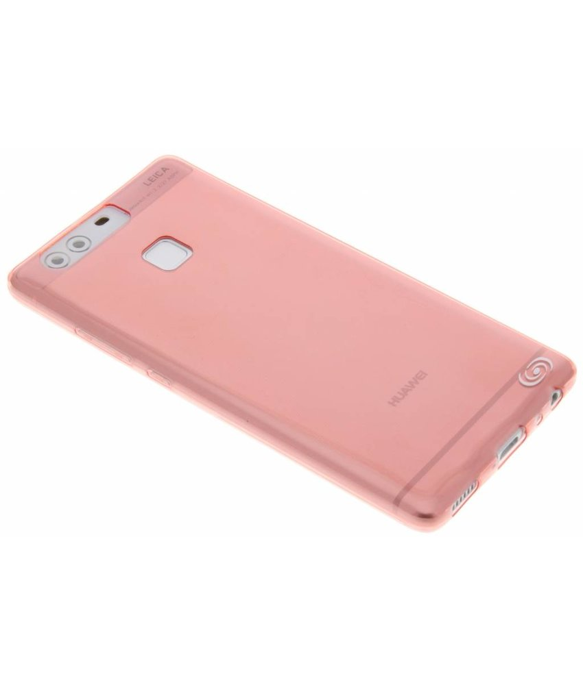 Fonex Invisible Ultra Thin Case Huawei P9 - Rood