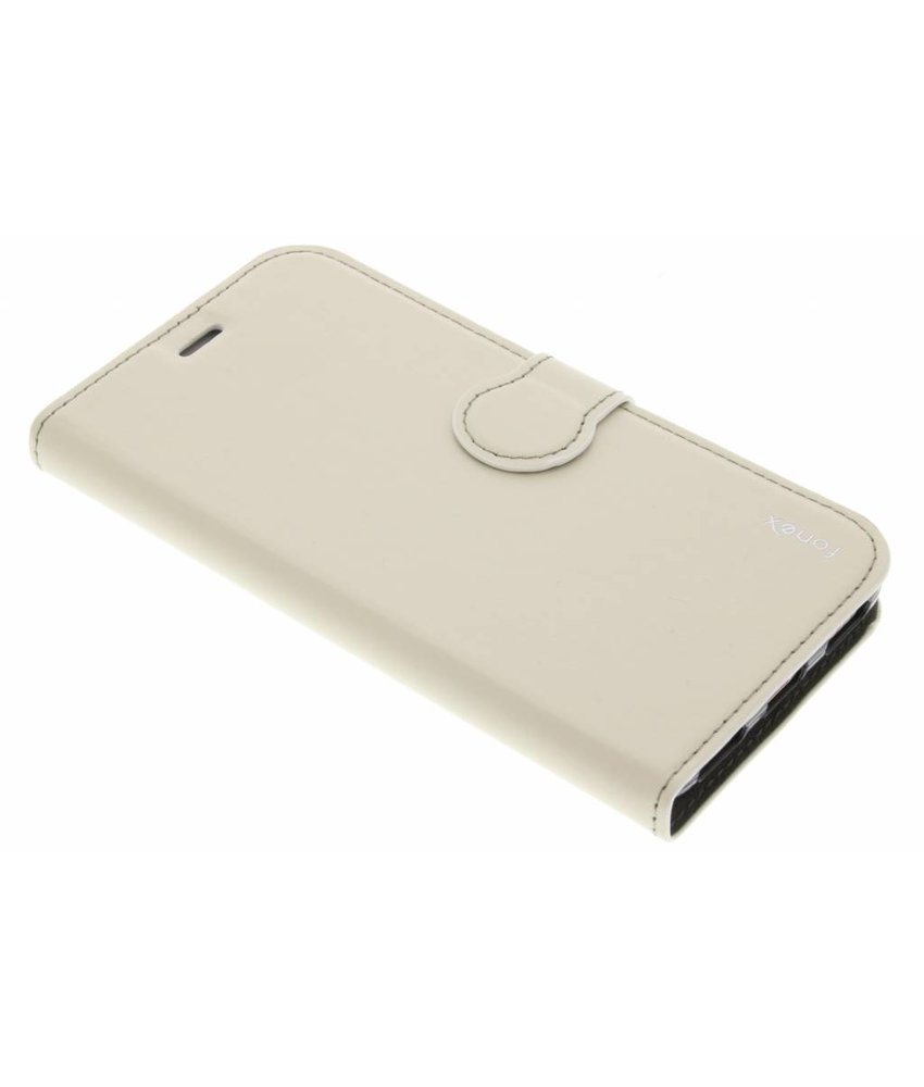 Fonex Identity Bookcase Huawei Y6 - Wit