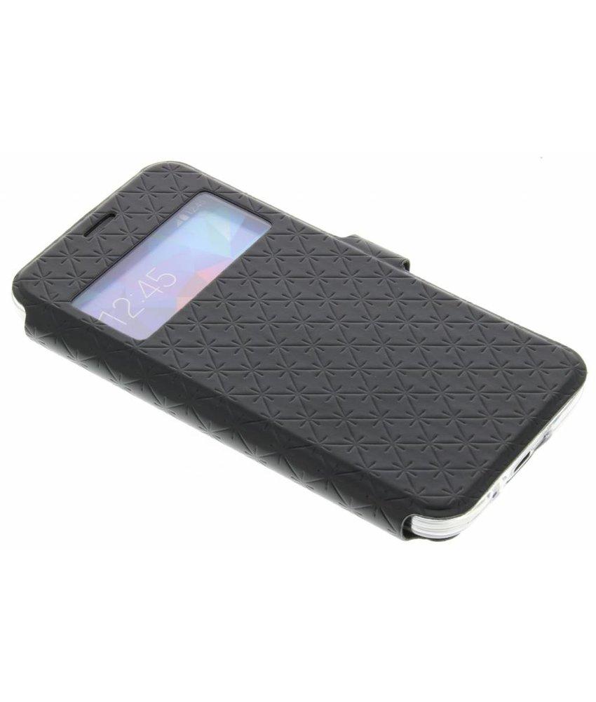 Zwart Rhombus hoesje Samsung Galaxy S5 Mini