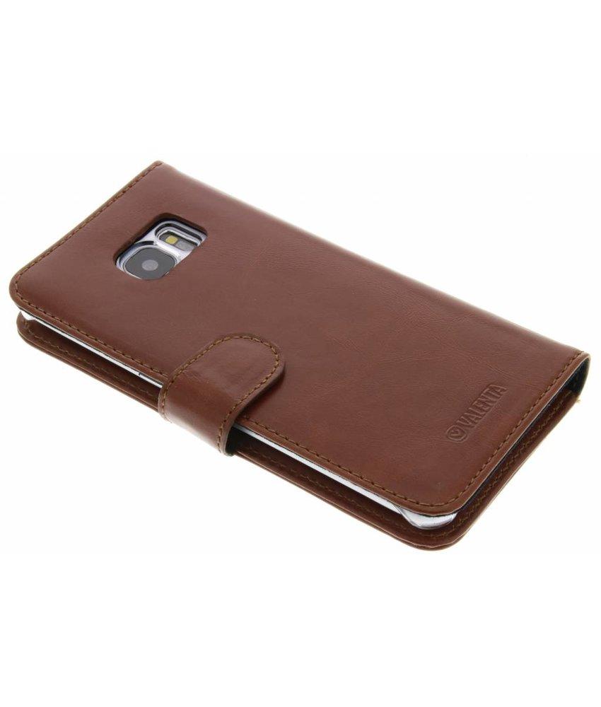 Valenta Booklet Classic Luxe Samsung Galaxy S7 Edge - Bruin