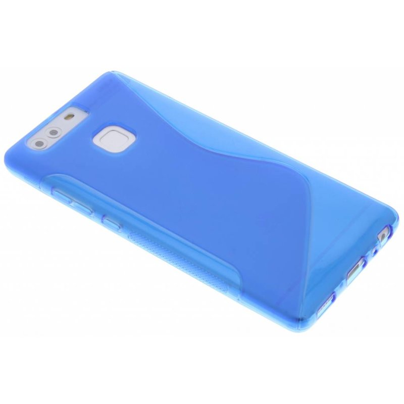 Blauw S-line TPU hoesje Huawei P9