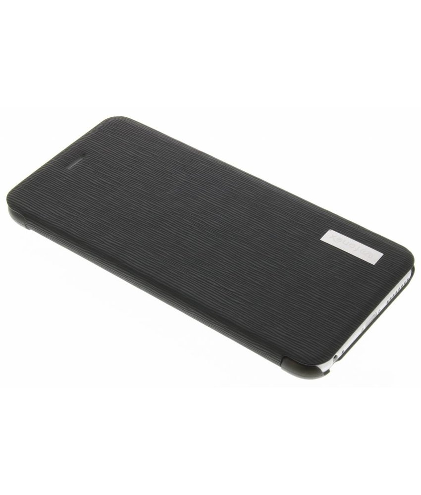 Fonex Crystal Slim Book Case iPhone 6(s) Plus - Zwart