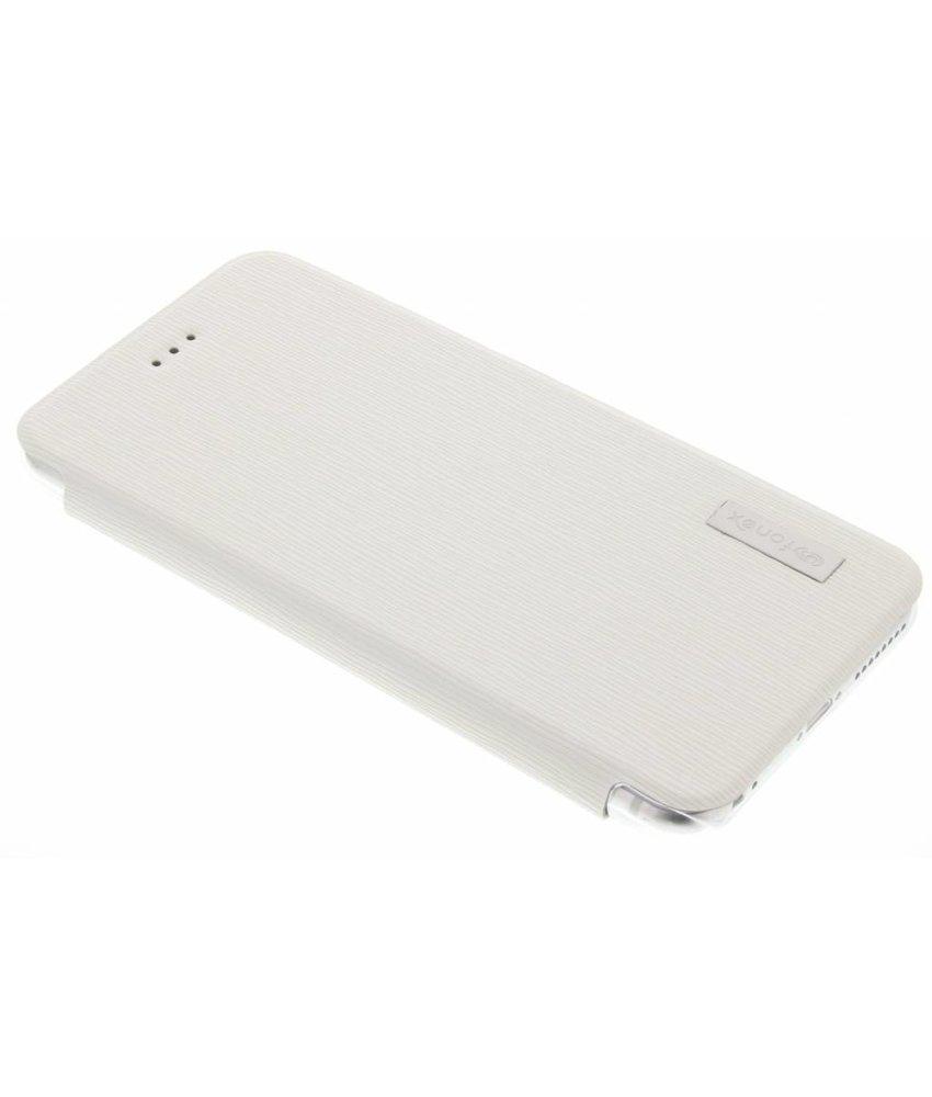 Fonex Crystal Slim Book Case iPhone 6(s) Plus - Wit