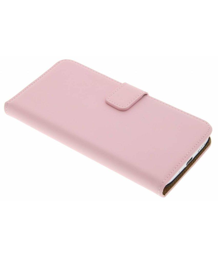 Selencia Luxe Book Case HTC 10 - Poederroze