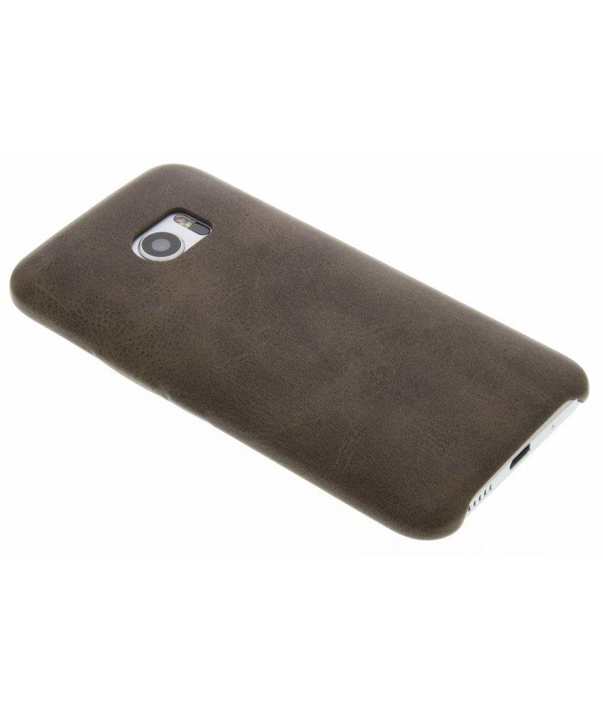 Donkerbruin TPU Leather Case HTC 10