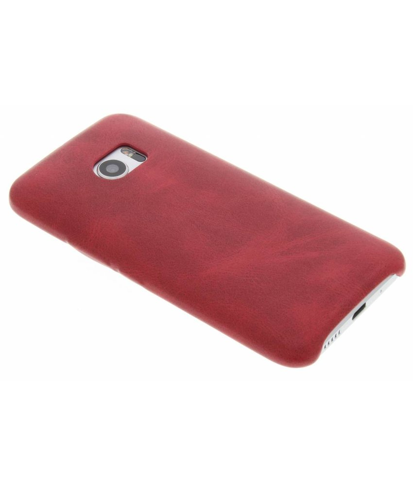 Rood TPU Leather Case HTC 10