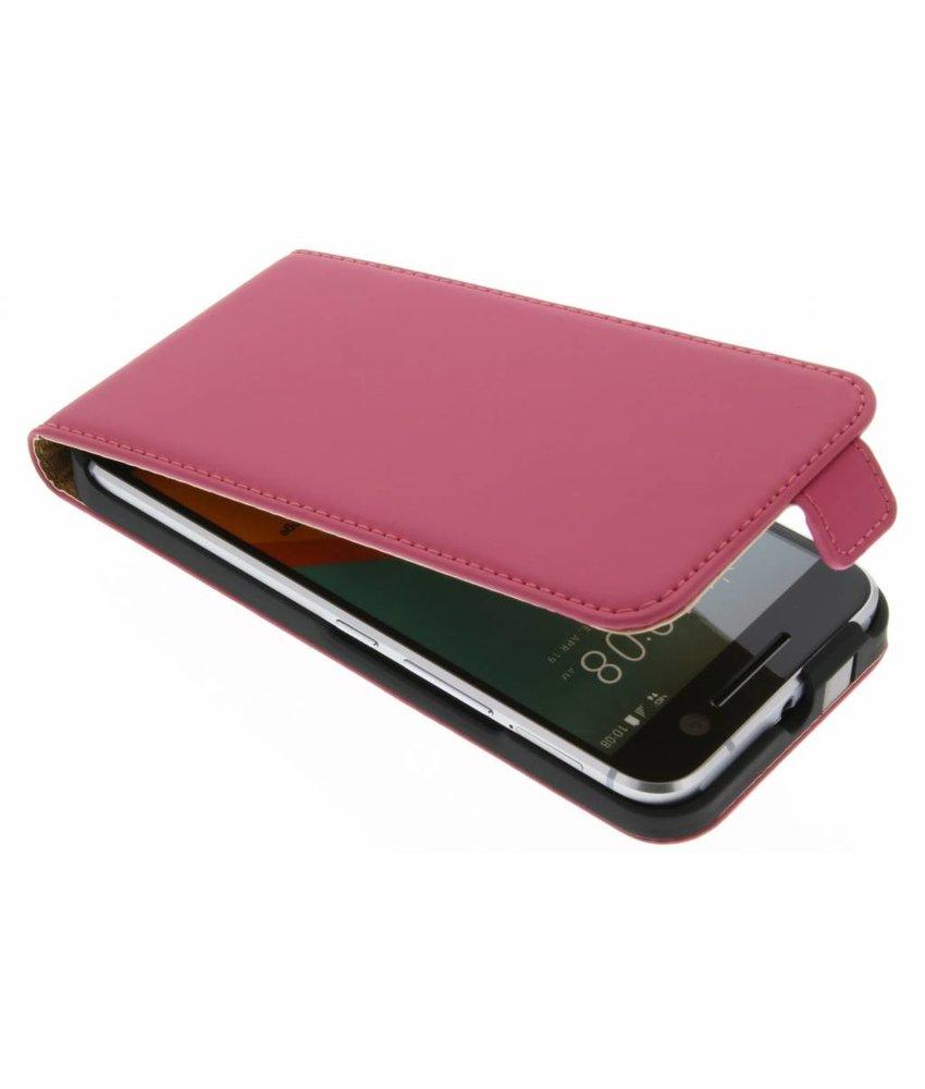 Selencia Luxe Flipcase HTC 10 - Fuchsia