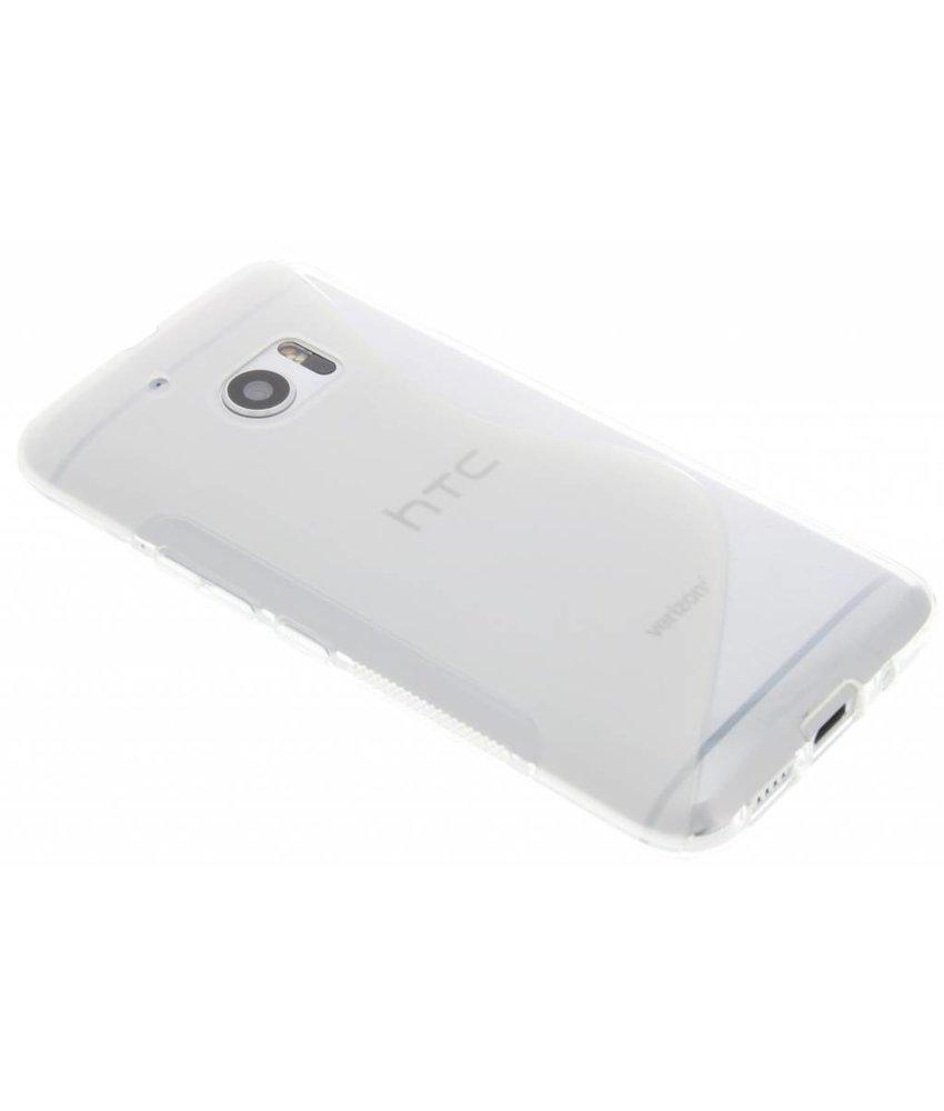 Transparant S-line TPU hoesje HTC 10