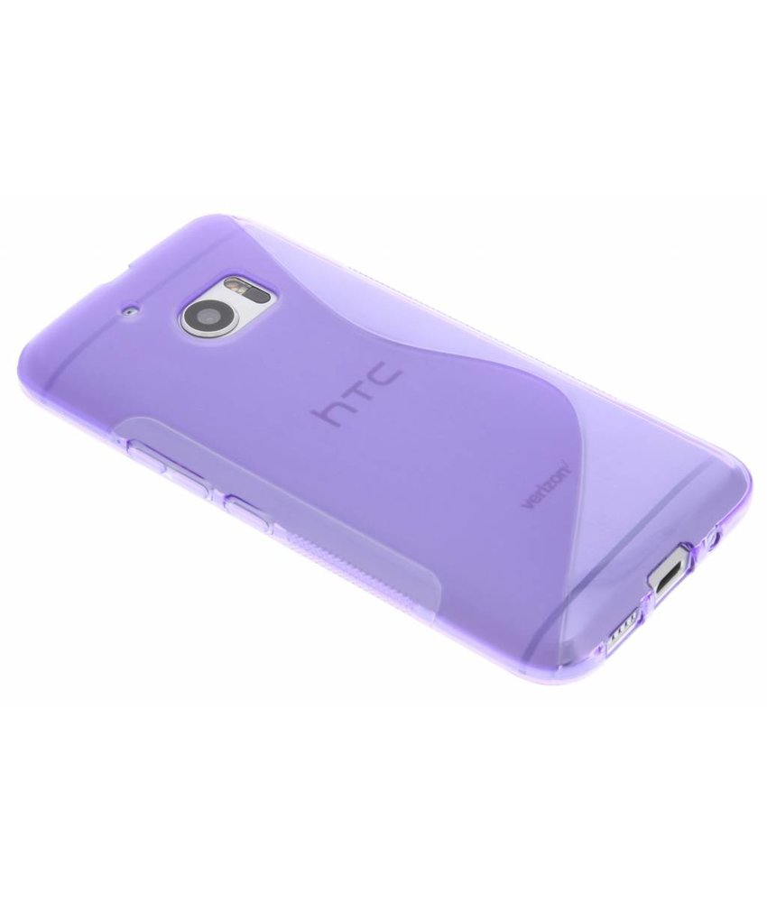 Paars S-line TPU hoesje HTC 10
