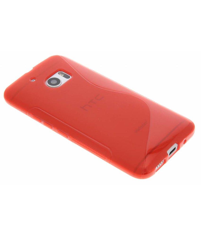 Rood S-line TPU hoesje HTC 10