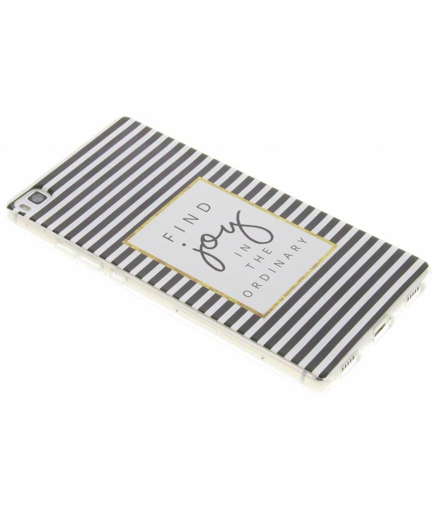 Design TPU siliconen hoesje Huawei P8