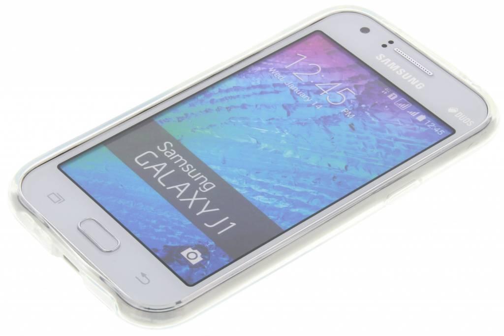 Rayures Conception Étui En Silicone Tpu Pour Samsung Galaxy J1 860SgCJjJ