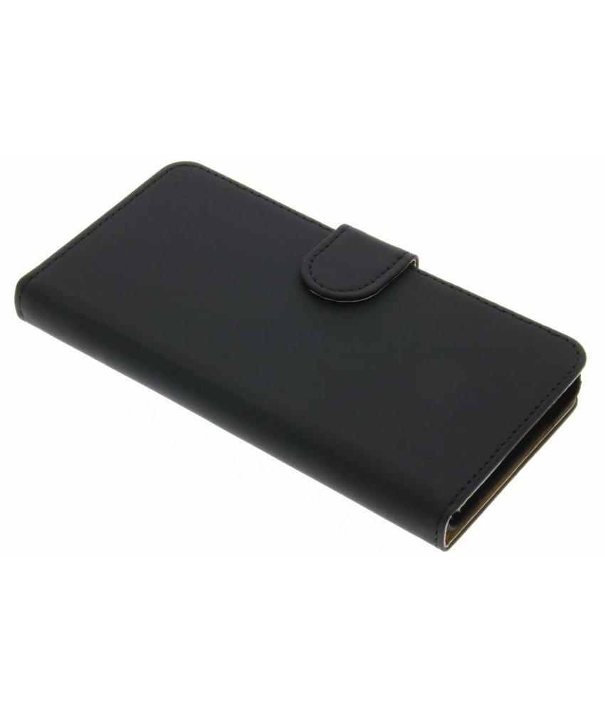 Zwart effen booktype hoes OnePlus X