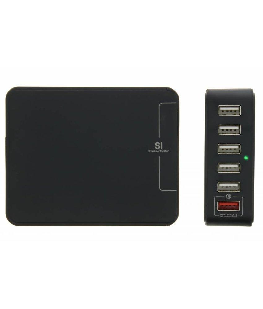 6-Poorts USB-lader 7 ampère