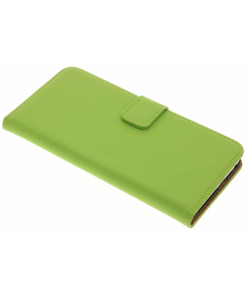 Selencia Luxe Book Case HTC One A9 - Groen