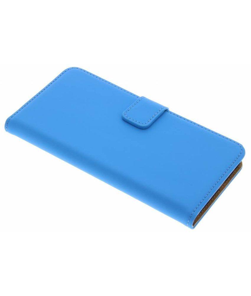 Selencia Luxe Book Case HTC One A9 - Blauw