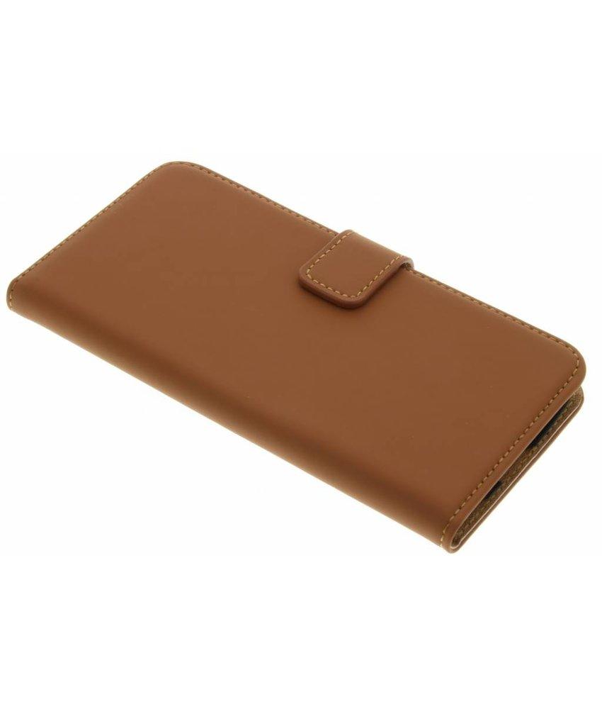 Selencia Luxe Book Case LG K10 - Bruin