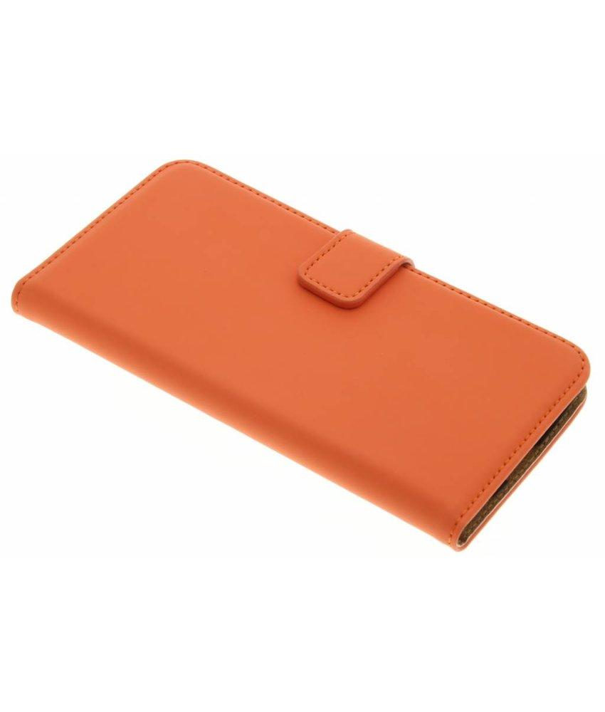 Selencia Luxe Book Case LG K10 - Oranje