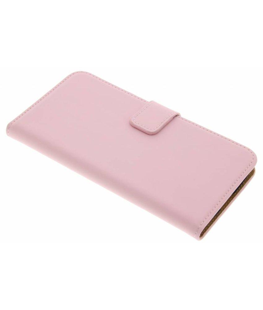 Selencia Luxe Book Case LG K10 - Poederroze