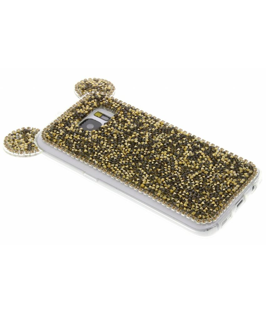 Goud blingmuis TPU hoesje Samsung Galaxy S7