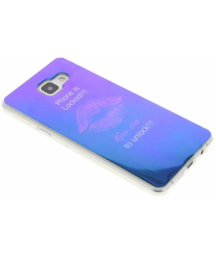 Metallic design TPU hoesje Samsung Galaxy A5 (2016)
