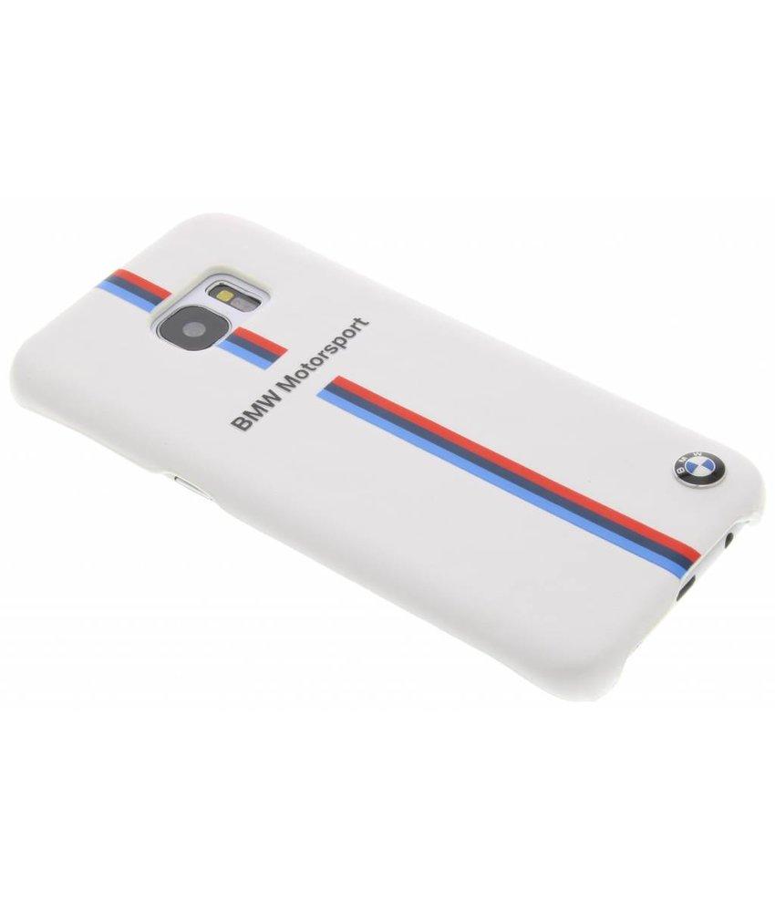 BMW Split Tricolor Hard Case Samsung Galaxy S7 Edge - Wit