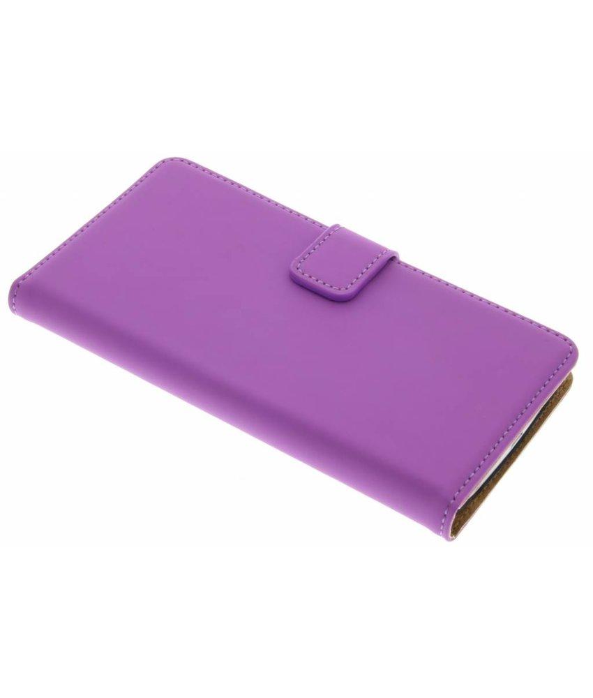 Selencia Luxe Book Case LG G3 - Paars