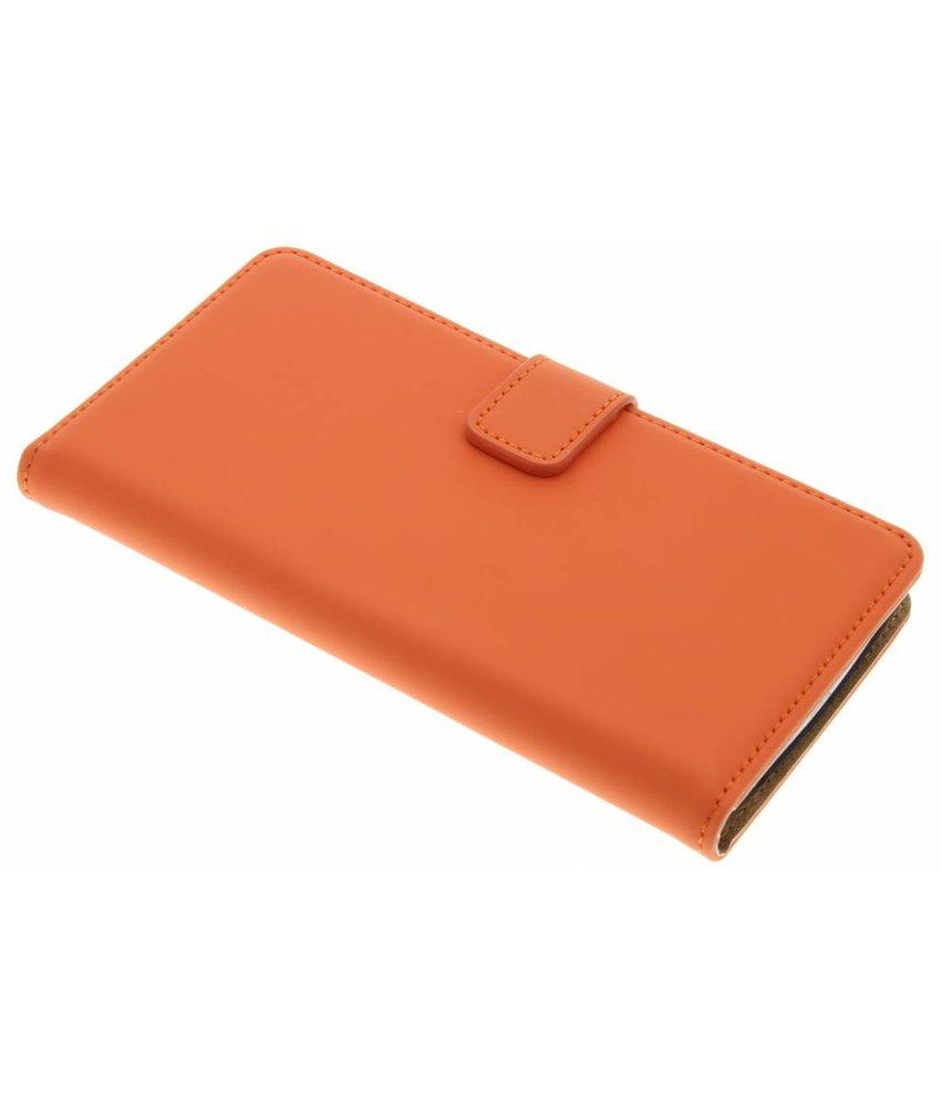 Selencia Luxe Book Case LG G3 - Oranje
